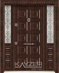 Glass entrance doors