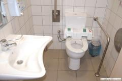 Sanitary facilities for the disabled