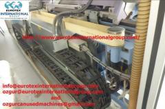 Machines knitting