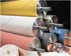 Rubbers rolled silicone (membranes)