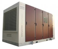 VSD 160 - 400 kW İNVERTÖRLÜ VİDALI KOMPRESÖR