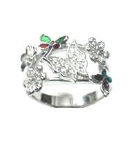 Silver rings Mineli MYZ 10