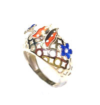 Silver rings Mineli MYZ 18