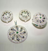 Silver Jewellery Sets MS 33