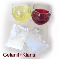 Gelanit Şarap Çöktürücü - Осветлител