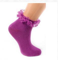 Alice Eflatun Çocuk Çorap