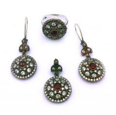 Изделия ювелирные из серебра