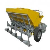 FOUR ROW  FULL AUTOMATIC POTATO PLANTING MACHINE