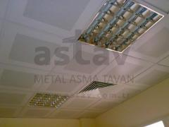 Metal suspended ceilings
