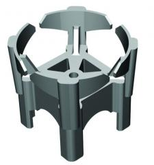 Clamps of protection layer for armature