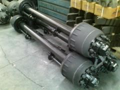 Axles for vehicles