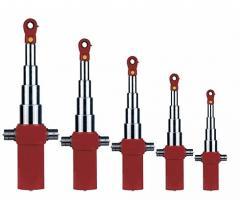 Hydraulic cylinders for dump trucks
