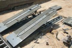 Elevators, hydraulic, loading platforms
