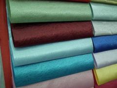 Telas de forro de fibra polietérica