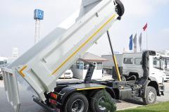 Lorries, dump-trucks