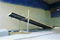10m Above Ground Unloading Platform