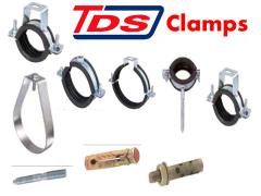 Clamp flange taps
