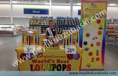 Baskılı display stand ve fuar ürünleri