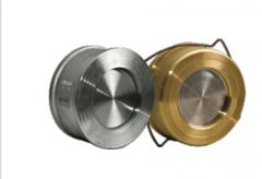 Gates and valves for dairy industry, metallic