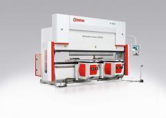 Segmental sheet bending machine