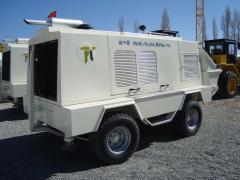 Trailer Type Concrete Pump 35D, 75D