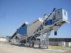 Mobil beton santrali
