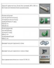 Completing and spare part for machine tools