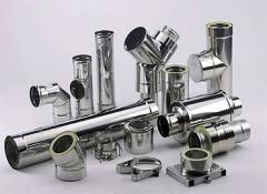 Pipes made of corrosion-resistant steel