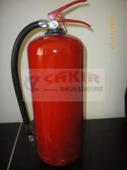 6.kg abc yangın söndürme cihazı 5.yıl garanti