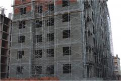 Fittings for scaffolding