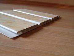 Molded board, plastic