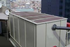 Sectional cooling towers