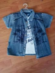 Gömlek ve tişört takımı