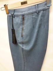 Bayan Moda Kot Pantolon Orta Bel Yüksek Kalite