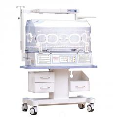 INC-100 lux incubator up side phototherapy unit