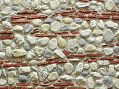 Karışık Taş Duvar Görünümlü Fiberglas Panel M1300