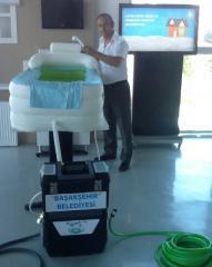 Hasta yıkama makinası