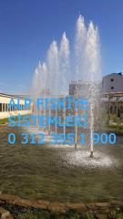 Fıskiye sistemleri,su köpüğü sistemler,havuz fıskiyeleri