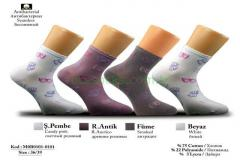 Butterfly-Patterned Socks for Women