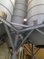Frame scaffoldings