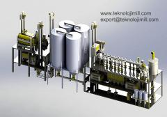 Compact Flour Mill Plant 60t / Day Capacity