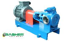 İnternal gear pump, Viscous liquid pumps, positive