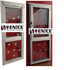 Bulletproof Aluminium Joinery Systems (Kurşun Geçirmez Alüminyum Doğrama)
