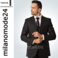 Mens Suits Business 2 Button High Quality Wool