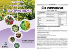 B commander (boron ethanolamine-ec fertilizer) 1