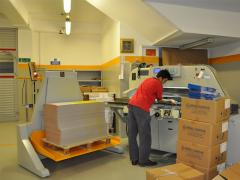 Sheet offset printing machines