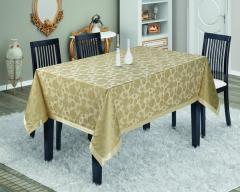 Simli masa örtüsü