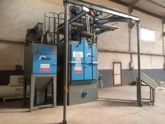 Askılı Kumlama Makinesi/Hook Type Shot Blasting Machine