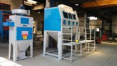 Basınçlı Kabin Kumlama Makinası / Pressure Blasting Cabinet