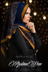 Muslima Wear Hijab Sultan Collection Gold and